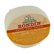 Montchevre Rondin Goat Cheese with Honey