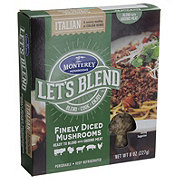 Monterey Lets Blend Italian Finely Diced Mushrooms