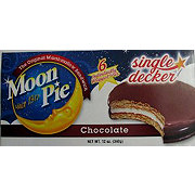 Moon Pie Chocolate Single-Decker Marshmallow Sandwich