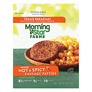 MorningStar Farms Breakfast Veggie Hot & Spicy Sausage Patties