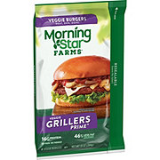 MorningStar Farms Grillers Prime Veggie Burgers