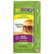 MorningStar Farms Meat Lovers Vegan Burgers Value Pack