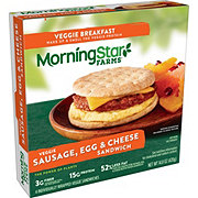 MorningStar Farms Sausage Egg & Cheese Sandwich