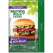 MorningStar Farms Spicy Black Bean Veggie Patties Value Pack