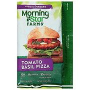 MorningStar Farms Veggie Burgers, Tomato & Basil Pizza