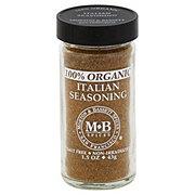 Morton & Bassett 100% Organic Italian Seasoning