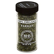 Morton & Bassett 100% Organic Parsley