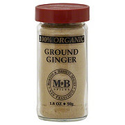 Morton & Bassett Organic Ground Ginger