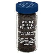 Morton & Bassett Whole Black Peppercorns