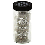 Morton & Bassett Whole Green Peppercorns