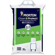 Morton Clean and Protect Water Softening Pellets+ Rust Defense