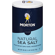 Morton Natural  Sea Salt