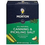Morton Salt, Canning & Pickling