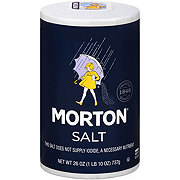 Morton Salt, Plain