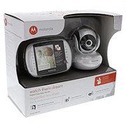 motorola digital video baby monitor. motorola watch them dream digital video baby monitor - shop nursery at heb p