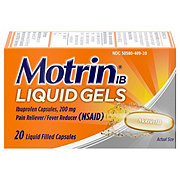 Motrin IBuprofen Liquid Gels