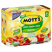 Mott's 100% Original Apple Juice Pouches