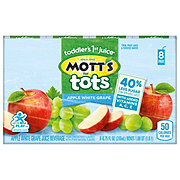Mott's For Tots Apple White Grape 8 PK