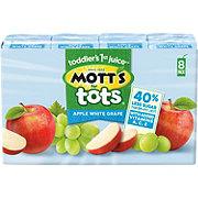 Mott's For Tots Apple White Grape 8 PK
