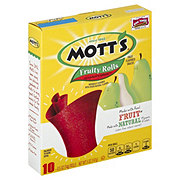 Mott's Fruity Rolls Strawberry Splash