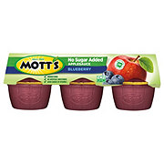 Mott's Healthy Harvest Blueberry Delight Naturally Flavored Apple Sauce