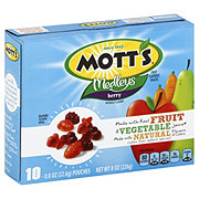 Mott's Medleys Berry Fruit Flavored Snacks