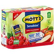 Mott's Sensible Apple Raspberry 100% Juice Pouches