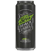Mountain Dew Black Label Soda
