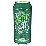 Mountain Dew Green Label Green Apple Kiwi Soda
