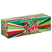 Mountain Dew Holiday Brew 12 oz Cans