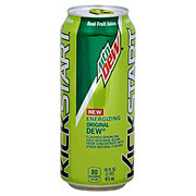 Mountain Dew KickStart Energizing Original Dew Beverage