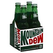Mountain Dew Soda 12 oz Glass Bottles