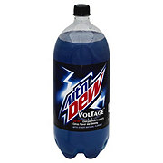 Mountain Dew Voltage Raspberry Citrus Flavor & Ginseng Soda