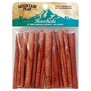 Mountain Peak 5 in Rawhide Beef Dental Twists