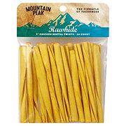 Mountain Peak 5 in Rawhide Chicken Dental Twists