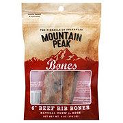 Mountain Peak 6 in Beef Rib Bones