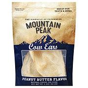Mountain Peak Peanut Butter Dipped Cow Ears