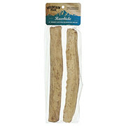 Mountain Peak Rawhide 8 Inch Retriever Rolls Peanut Butter