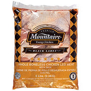Mountaire Whole Boneless Chicken Leg Meat with Skin