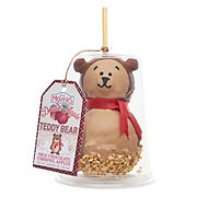 Moyer's Teddy Bear with Milk Chocolate and Caramel Apple