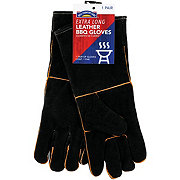 Mr. Bar-B-Q Sear' N Smoke Extra Long Leather BBQ Gloves