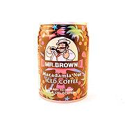 Mr. Brown Macadamia Nut Iced Coffee Drink