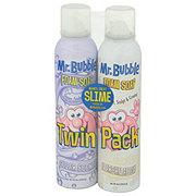 Mr. Bubble Foam Soap Twin Pack, Original and Bubbleberry