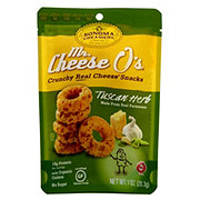 Mr. Cheese O's Tuscan Herb Flavor Cheese Snack