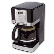 Mr. Coffee 12-Cup Programmable Brushed Coffee Maker