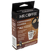 Mr Coffee Coffeemaker Cleaner : Mr. Coffee Coffeemaker Cleaner - Shop Coffee Makers at HEB