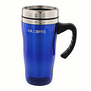 Mr. Coffee Morning Fix Travel Mug, Blue