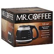 Mr Coffee Replacement Decanter 12 Cup Black