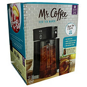 Mr. Coffee Tea Cafe Iced Tea Maker, Black