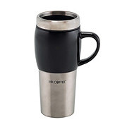 Mr. Coffee Traverse Travel Mug with Lid Assorted Colors
